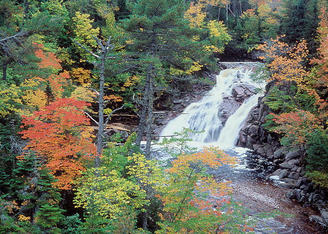Mary-Ann Falls, Nova Scotia
