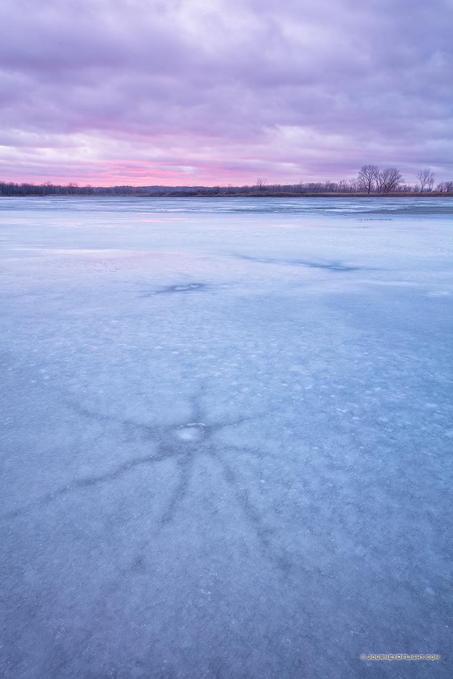 Desoto National Wildlife Refuge - Winter Nebraska Landscape Photography