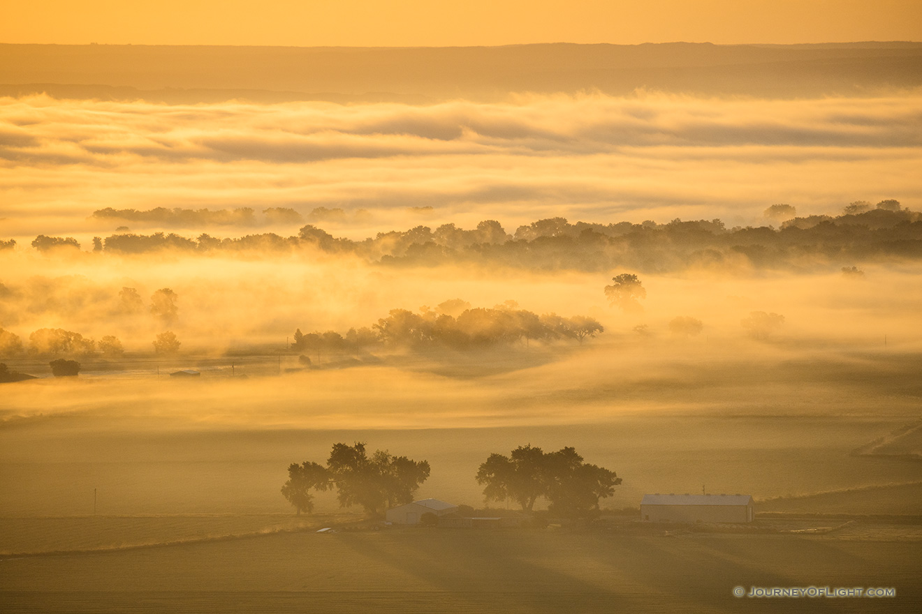 Morning Fog on the Plains