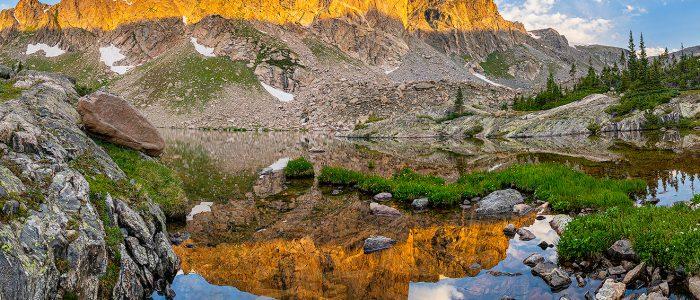 Mirror Lake Reflections - Colorado Landscape Photograph