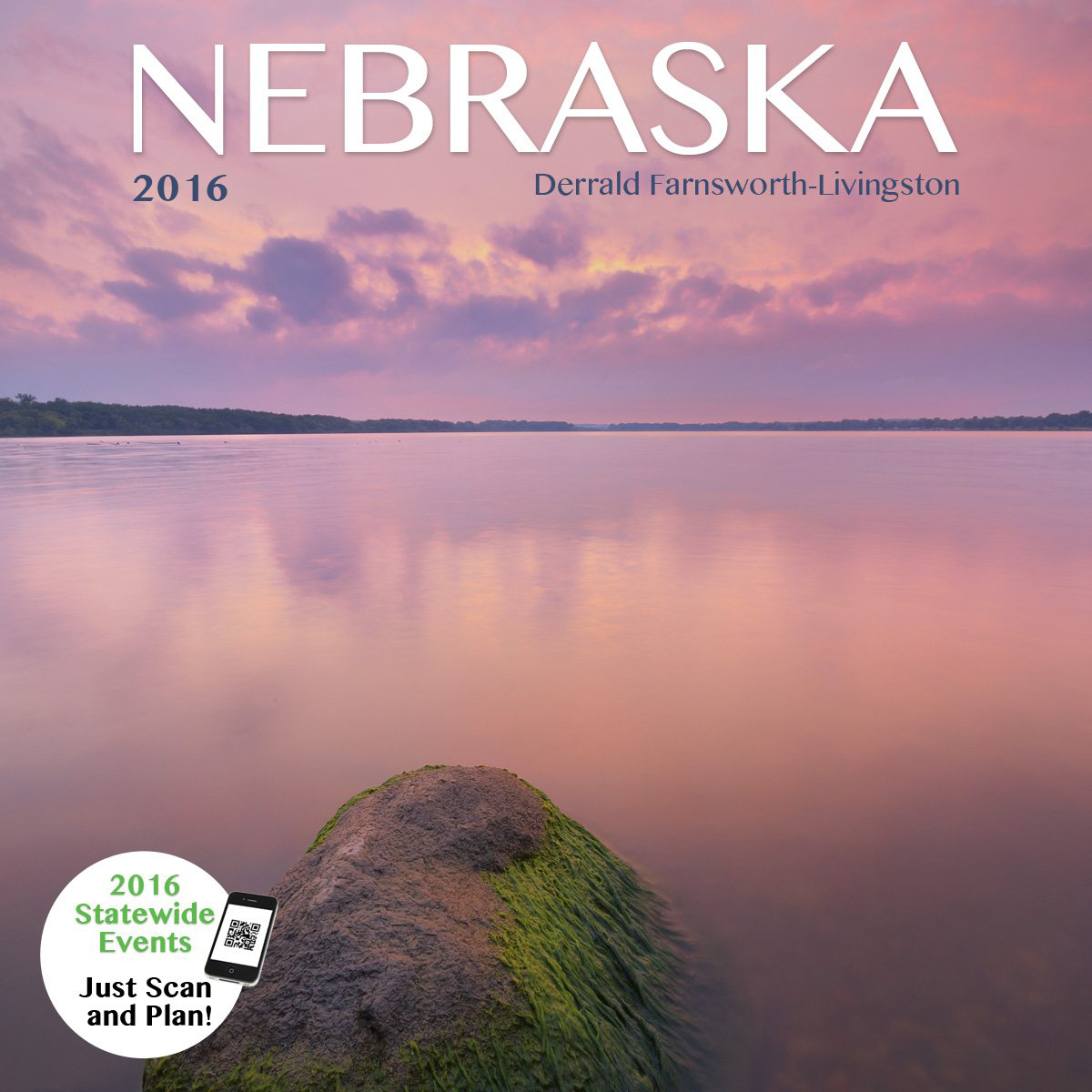 2016 Nebraska State Pride Calendar.  Sold in Costco, Amazon, and Calendar Club.  Contributed All Photography. -  Photography